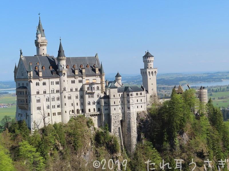 ノイシュバンシュタイン城を個人で観光してきたので予約・行き方・注意点を紹介 ドイツ旅行㊳